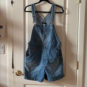 GAP women's denim overalls size M